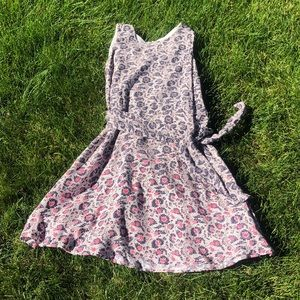 Gap blue and pink dress